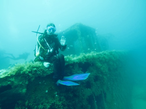 Shipwreck Sitting in Malta